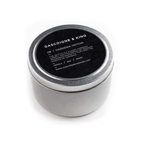 Gascoigne & King Gardenia Veitchii Travel Candle