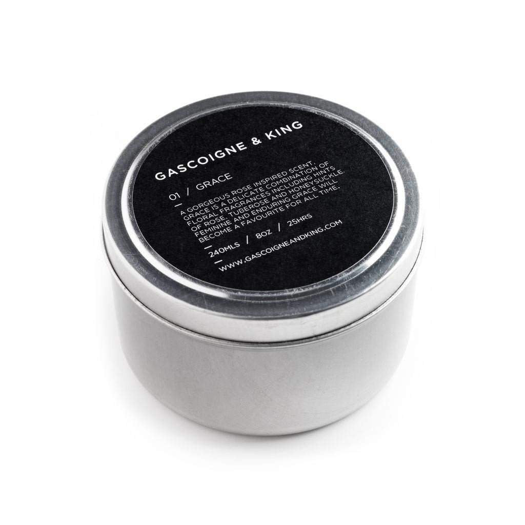 Gascoigne & King Grace Travel Candle