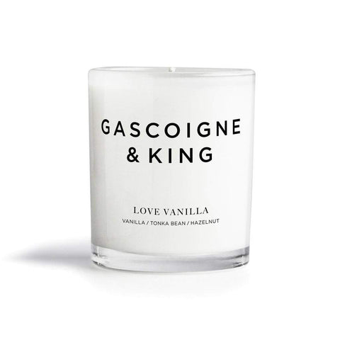Gascoigne & King Love Vanilla 300ml Soy Candle