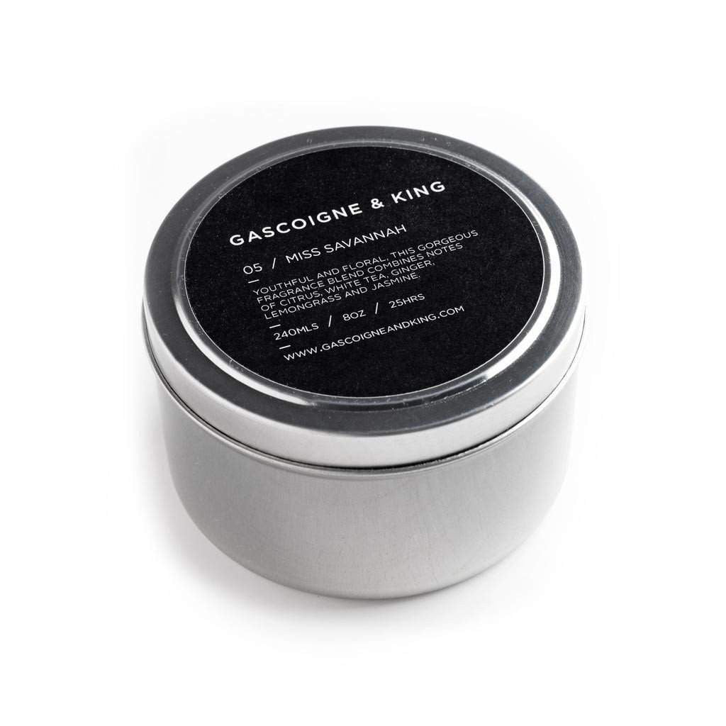 Gascoigne & King Miss Savannah Travel Candle