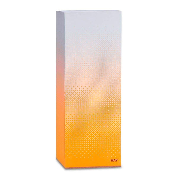 Hay Tower Block Note Paper 20cm Orange/Fade