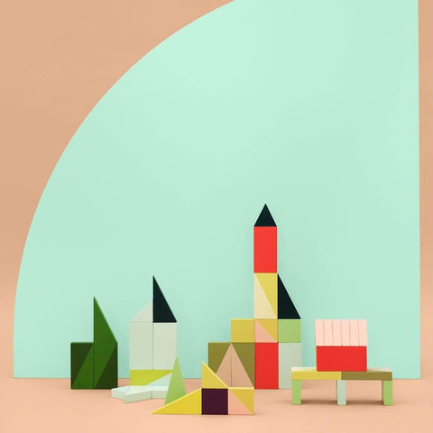 Hay Wooden Wonderland Building Blocks