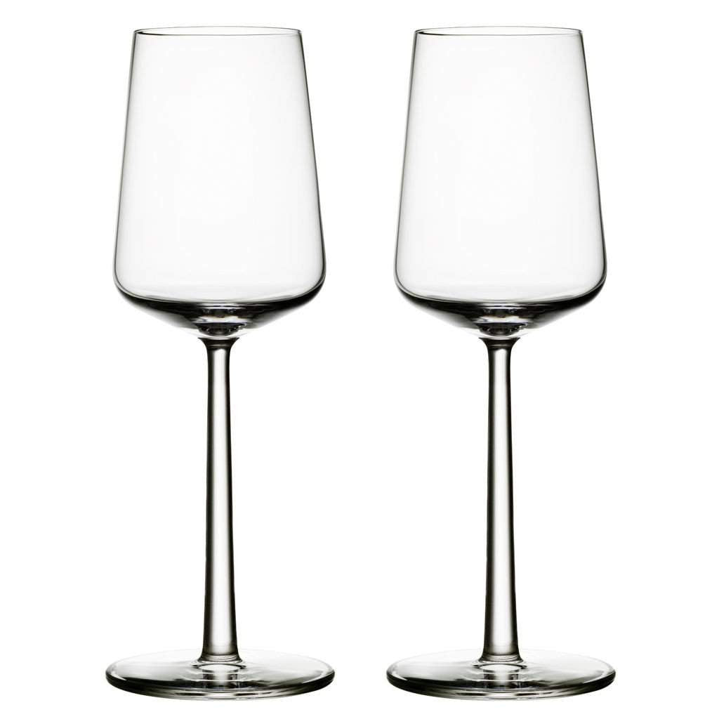 Iittala Essence White Wine Glasses, Set of 2