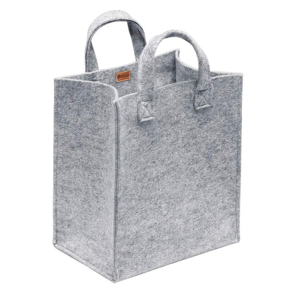 Iittala Meno Home Bag Grey Felt 350x300x200mm