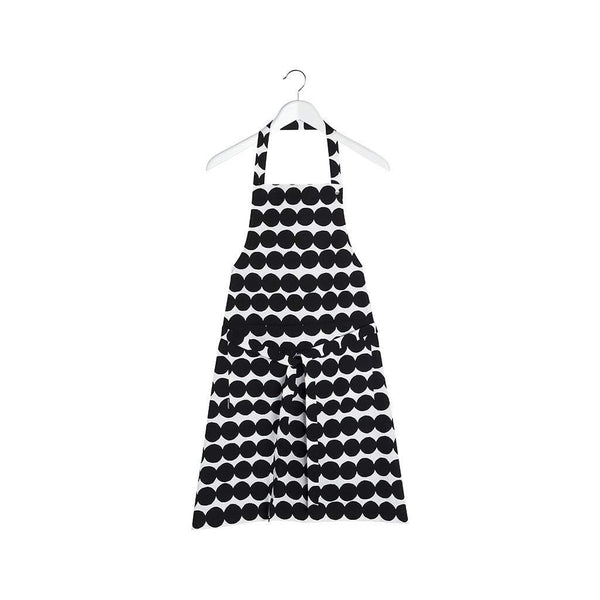 Marimekko Rasymatto Apron Black and White