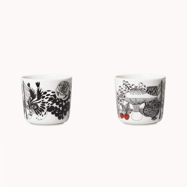 Marimekko Veljekset Coffee Cups 2 Pieces Without Handle