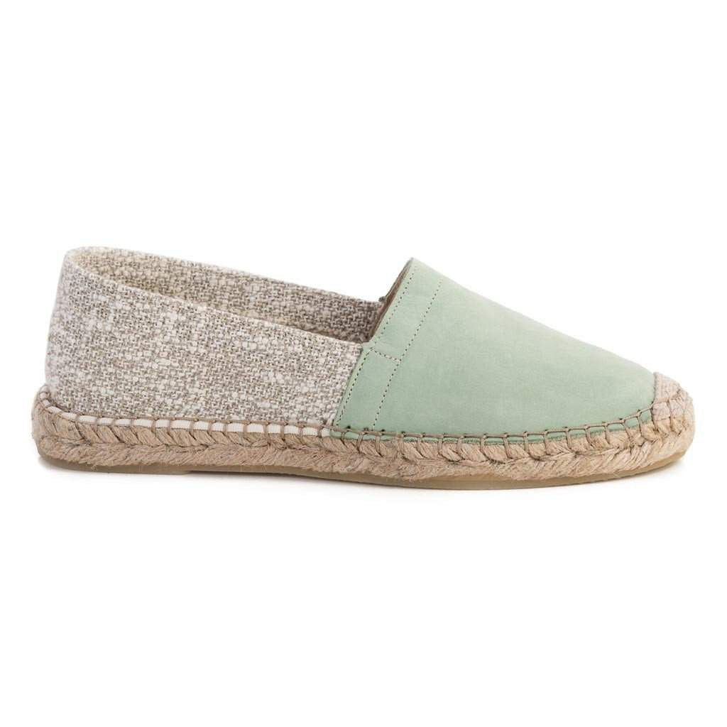 Maya McQueen Iman Leather Espadrille