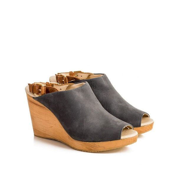 Maya McQueen Jamie Wooden Slide Wedge