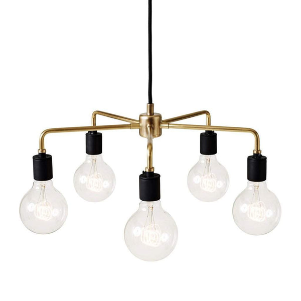 Menu Leonard Chandelier, Brass
