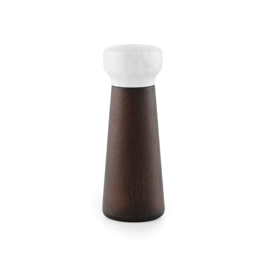 Normann Craft Salt Mill Small, Stained Oak