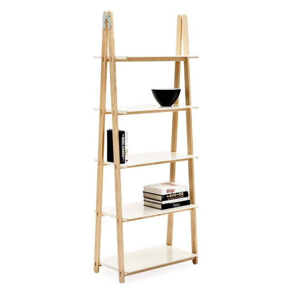 Normann One Step Up Bookcase White