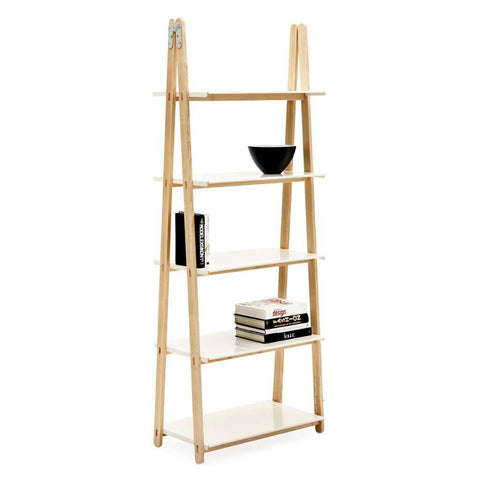 Normann One Step Up High Bookcase White
