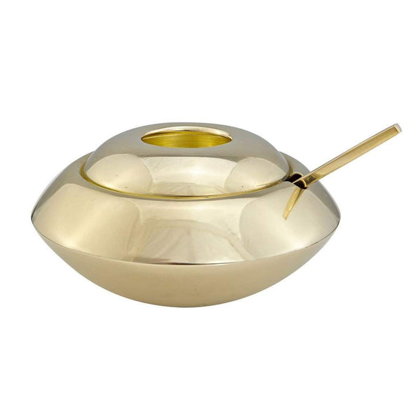Tom Dixon Form Sugar Dish and Spoon