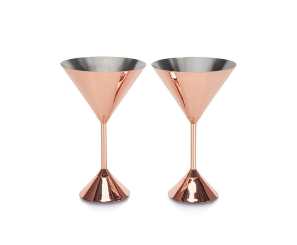 Tom Dixon Plum Martini Glasses, Set of 2