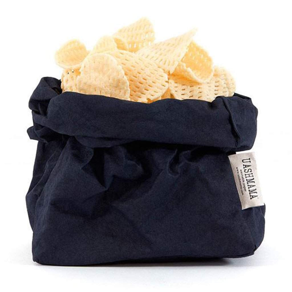 Uashmama Paper Bag Dark Blue