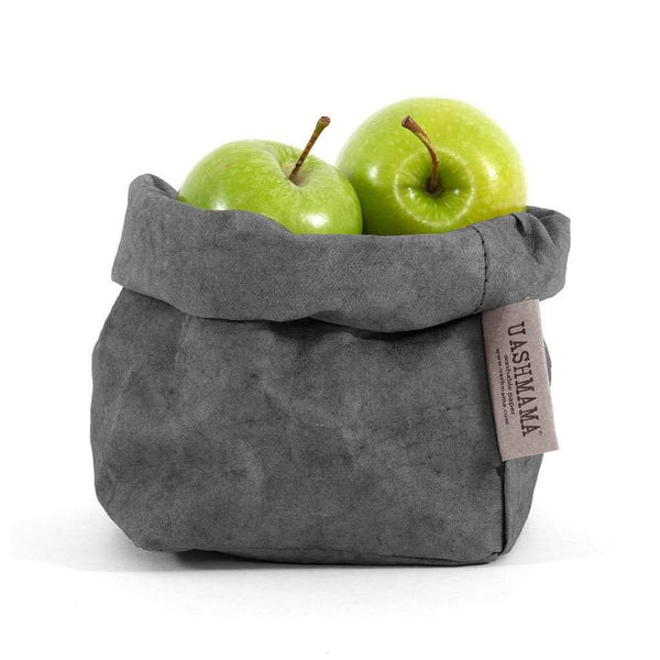 Uashmama Paper Bag, Dark Grey