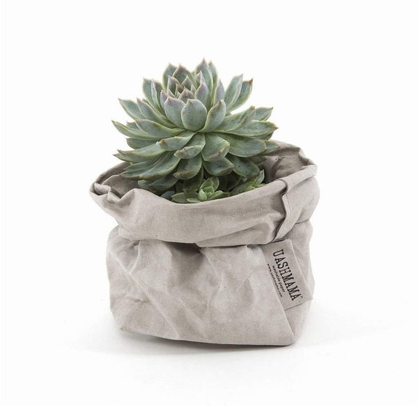 Uashmama Paper Bag, Grey