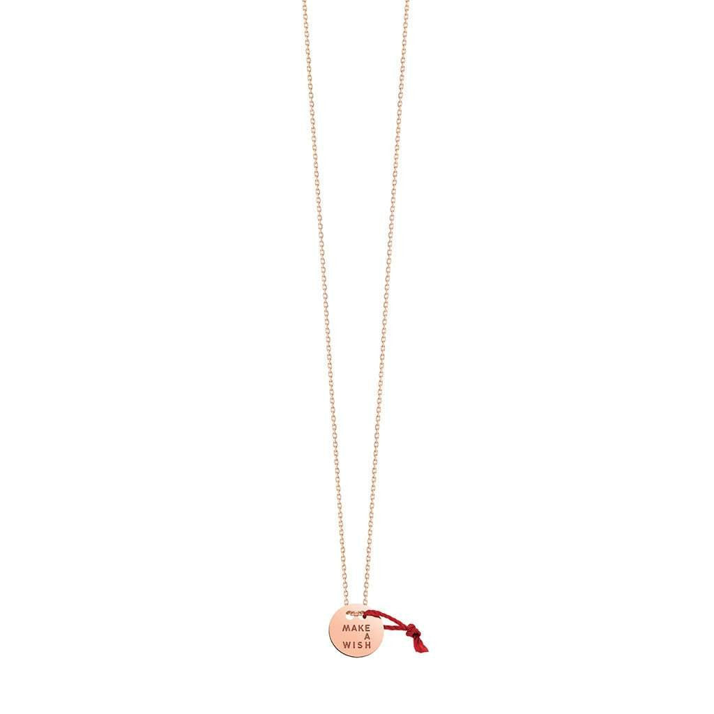 Vanrycke Make A Wish Necklace 18ct Rose Gold