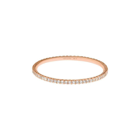 Vanrycke Officiel 18ct Rose Gold and Diamond Ring