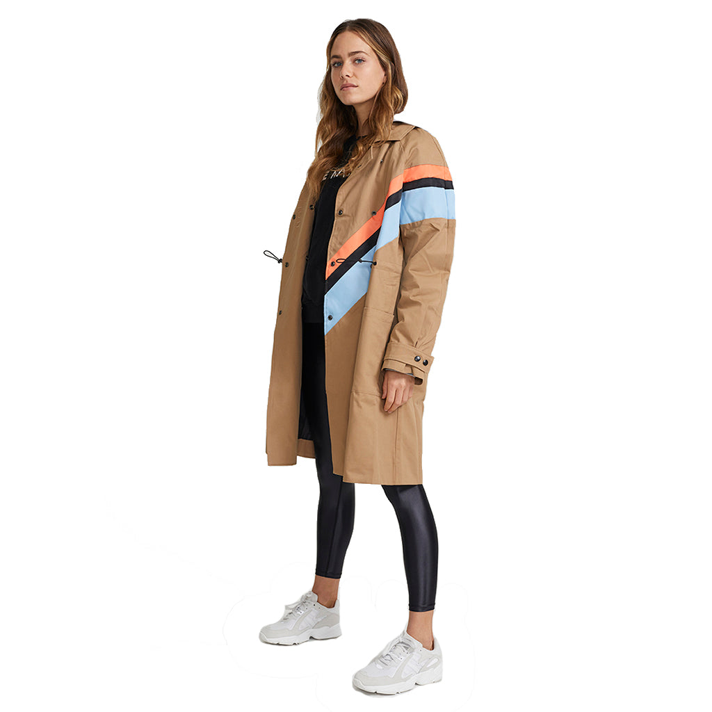 PE Nation Caribiner Sports Trench Coat