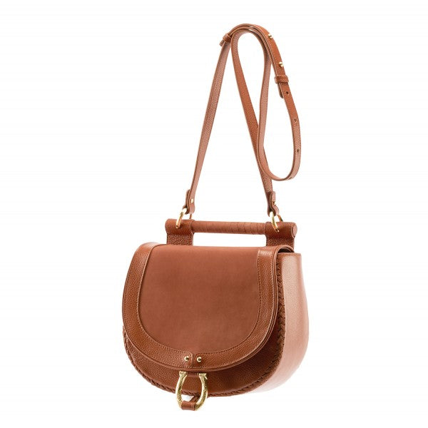Babylon Bar Nubuck Bag - Brandy