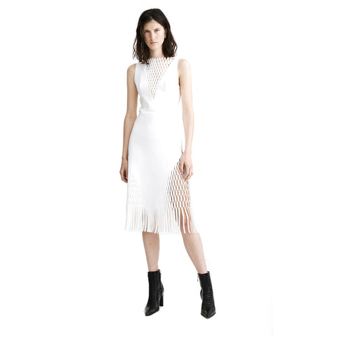 Dion Lee Perforated Mirror Dress