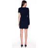 Dion Lee Matte Viscose Jersey Asymetric Mini Dress