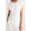 Dion Lee Whitewash Corrugated Pleat Top