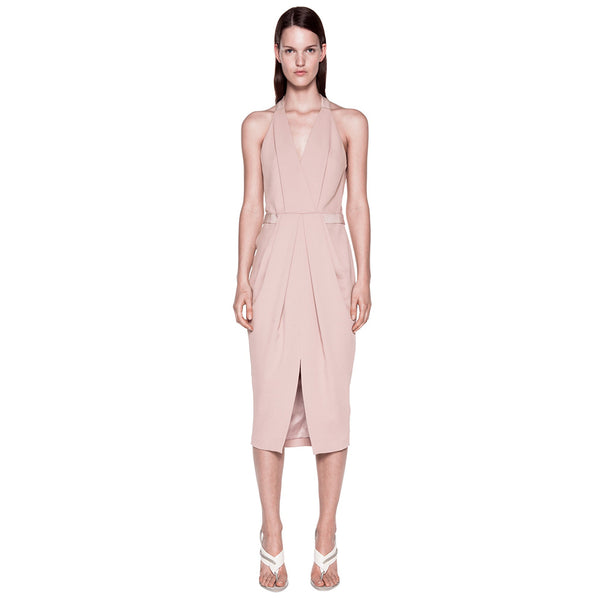 Dion Lee Whitewash Drape Dress