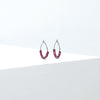 Elk Speckle Hoop Earrings