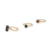 Elke Meridian Ring Set