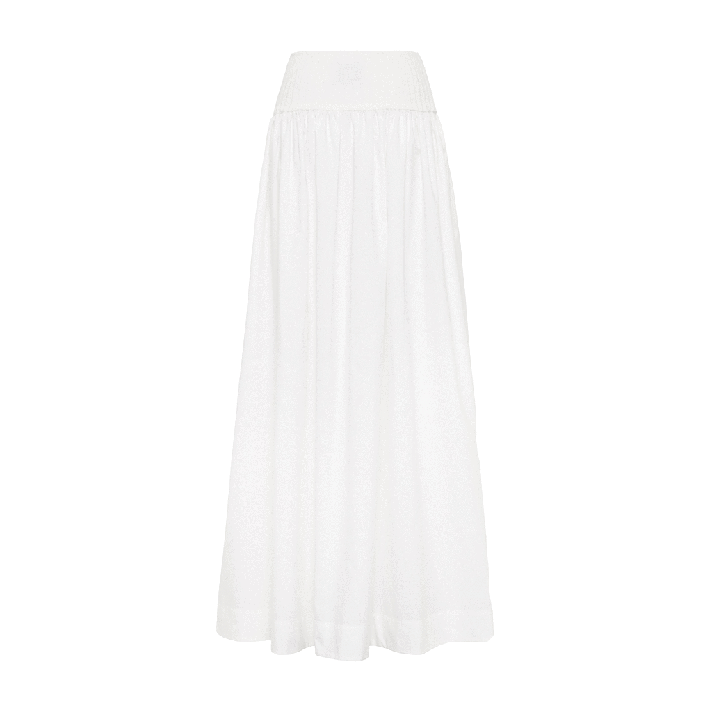 Esse Cotton Rib Maxi Skirt