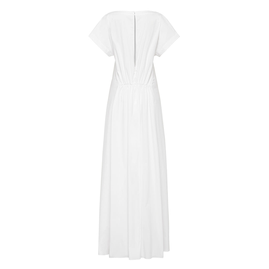 Esse Gathered Front Maxi Dress