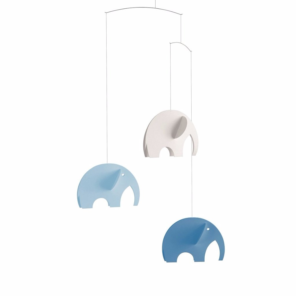 Flensted Olephants Mobile Blue