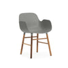 Normann Form Walnut Armchair