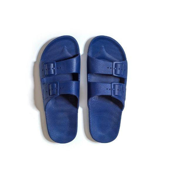 Freedom Moses Navy Slide