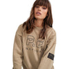 PE Nation Olive Grey Heads Up Sweat