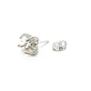 Herkimer Single Stud Silver