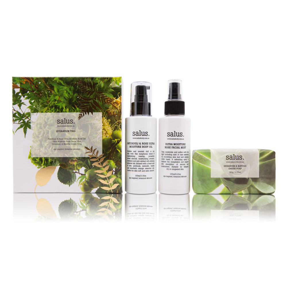 Salus Hydration Trio Limited Edition Set