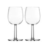 iitala Raami Red Wine Glasses (Set 2)