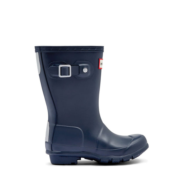 Hunter Boots Kids Original Tall Navy