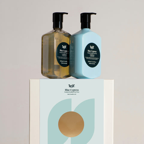 Leif The Hair Duo Large Set Blue Cypress 500 ml