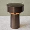 Menu Bronze Column Table Lamp