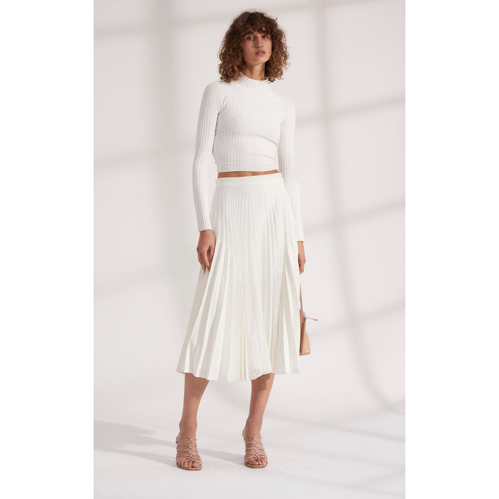 Dion Lee Moire Pleat Skirt