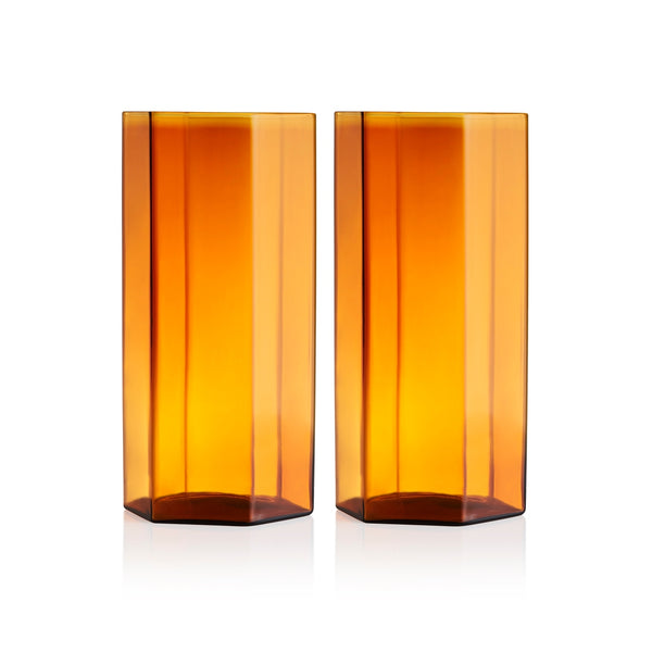 Maison Balzac Amber Coucou Tall Glass (Set of 2)