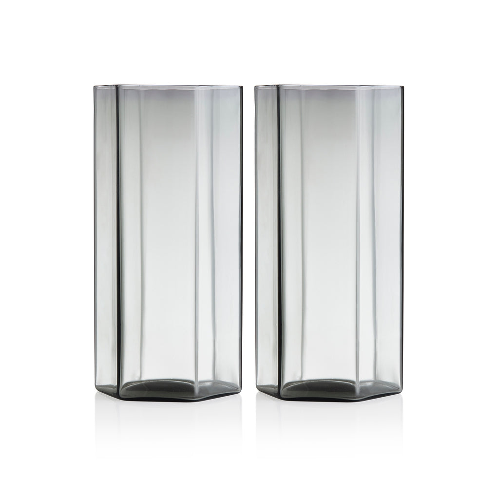 Maison Balzac Smoke Coucou Tall Glass (Set of 2)