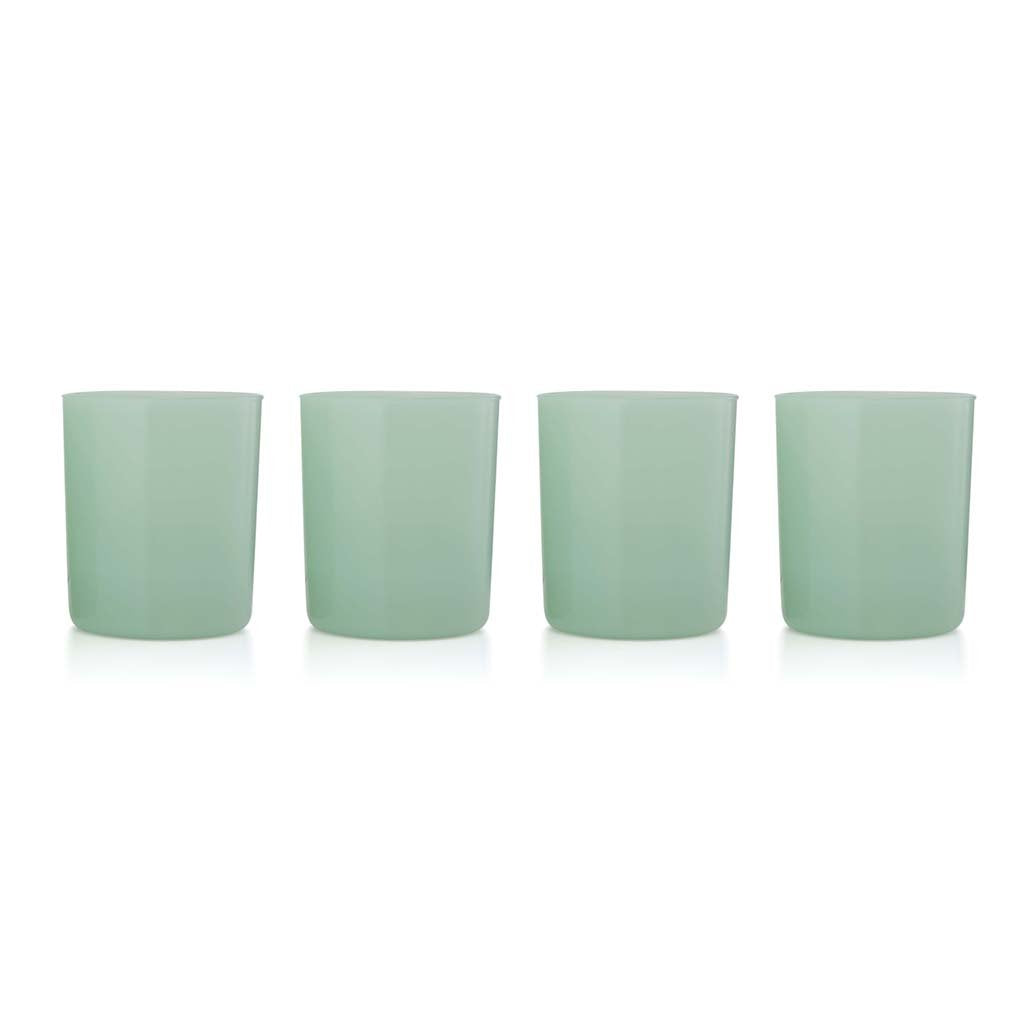 Maison Balzac Opaque Mint Large Gobelets (Set of 4)