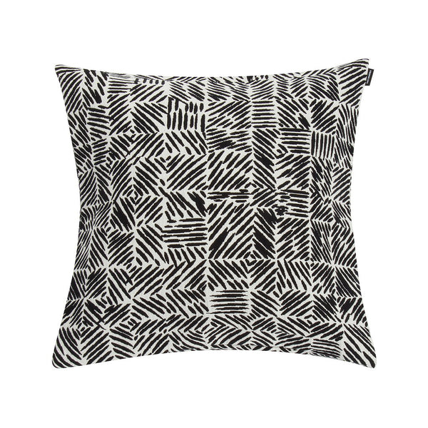 Marimekko Juustomuotti Cushion Cover Black/White 45x45