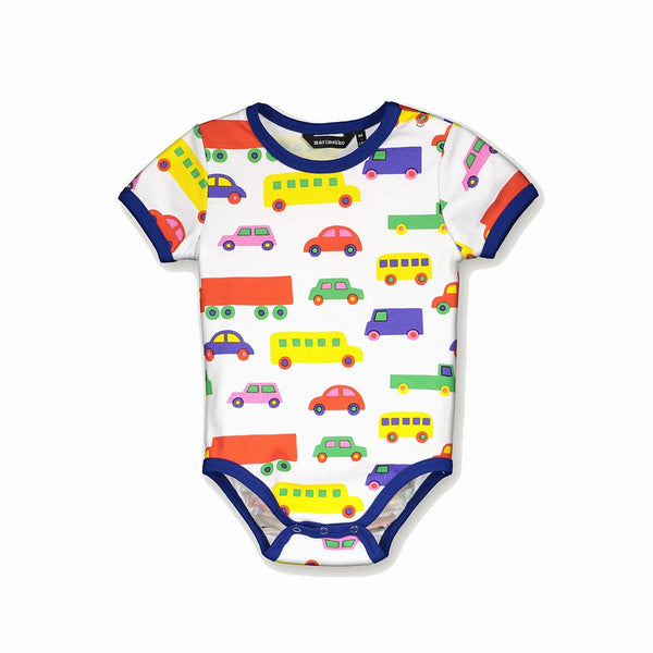 Marimekko Vaude Mini Bo Boo Short Sleeved Onesie