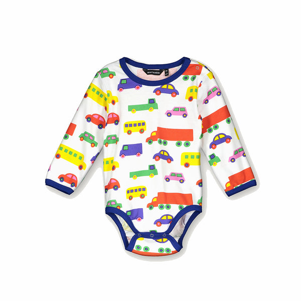 Marimekko Vinde Mini Bo Boo Long  Sleeve Onesie